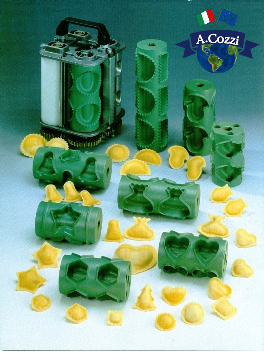 Molds for pasta