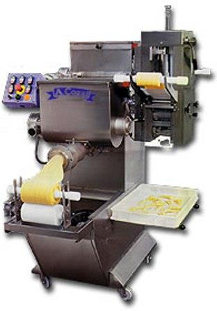 Press for fresh pasta with ravioli machine model PC 55 R