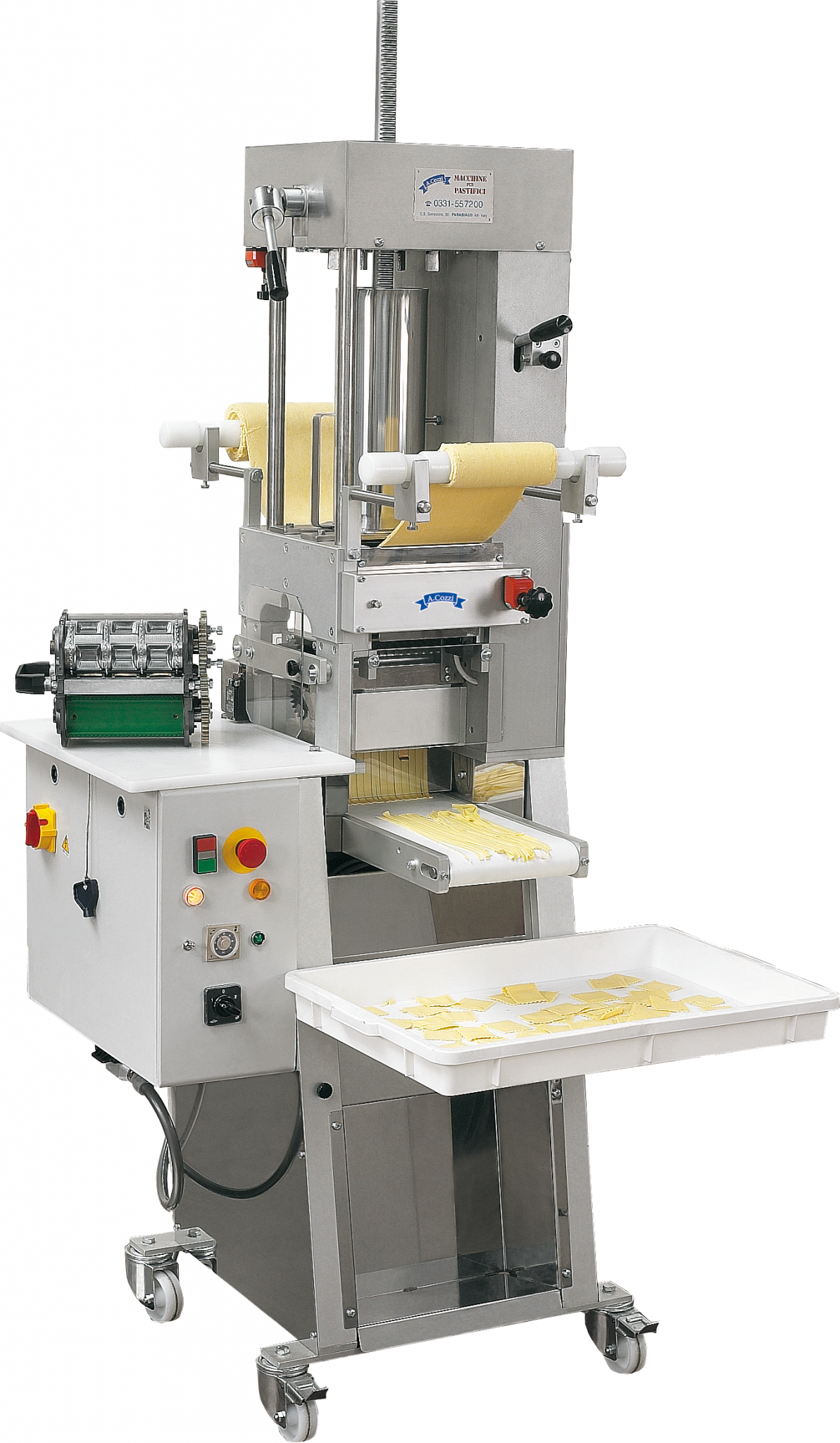 Machines for the production of RS160 ravioli