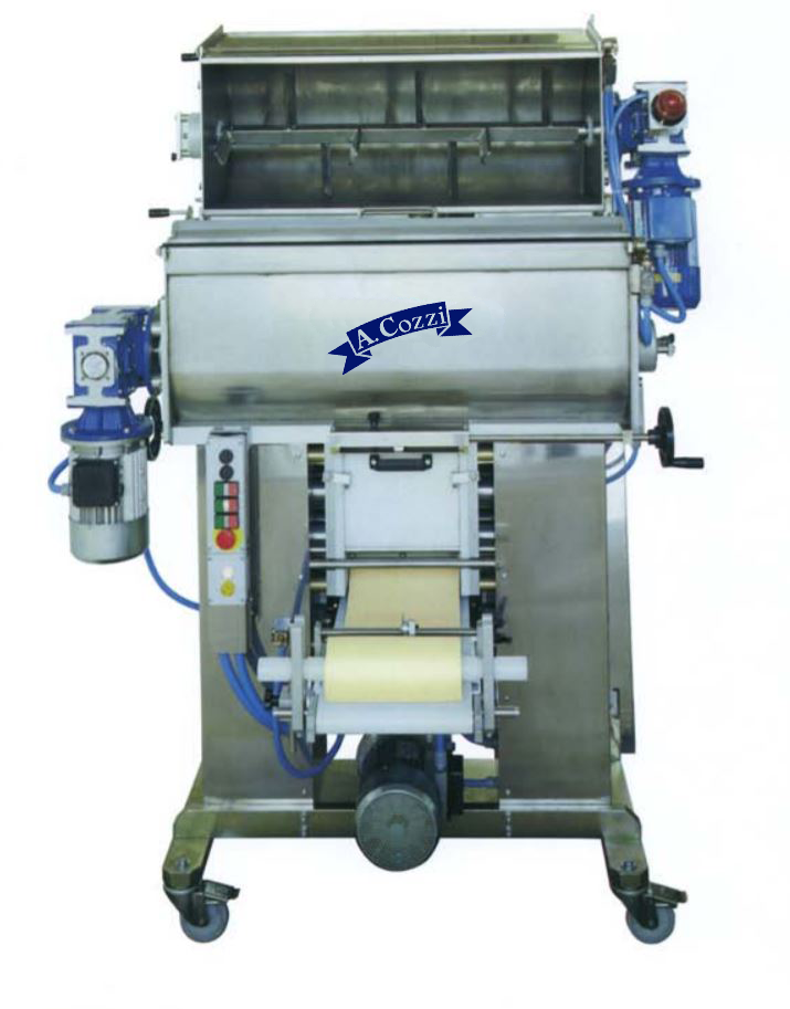Automatic double-sheeter dough sheeter