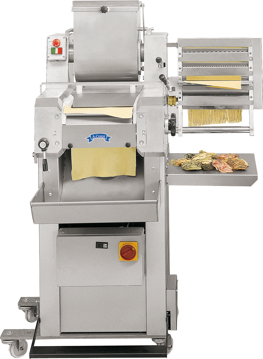 Semi-automatic sheet puff pastry machine C240