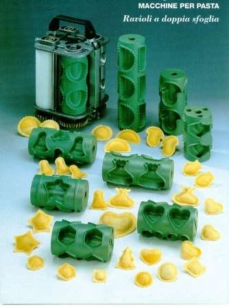Ravioli molds and formats - ravioli machines