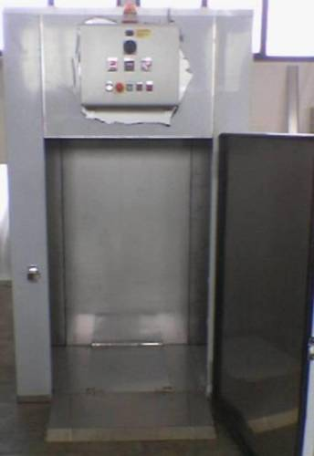 Sterilizer for trolley pasta with frames - Open