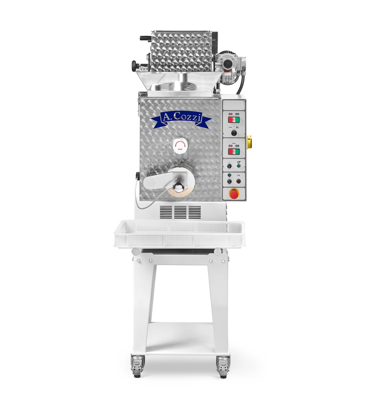 Press for fresh pasta double tub model PC 110