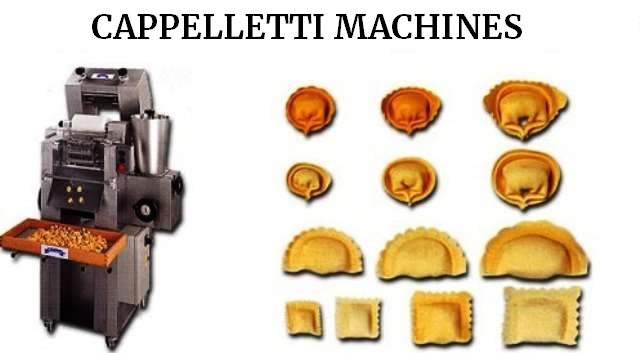 Cappelletti machines simple sheet