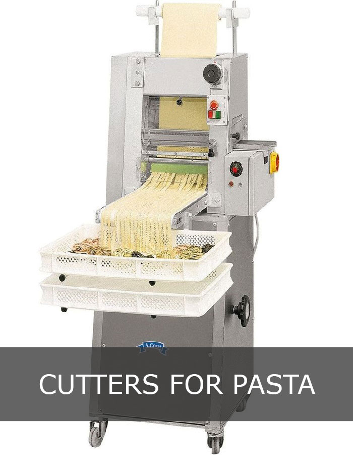 Cutter for pasta