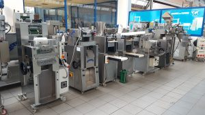 Exhibition of machines for fresh pasta