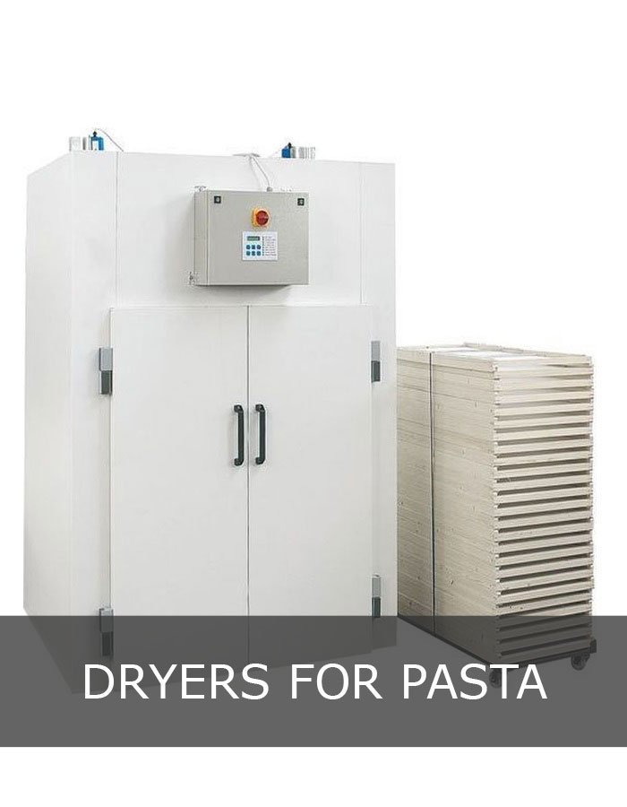 Drier for pasta