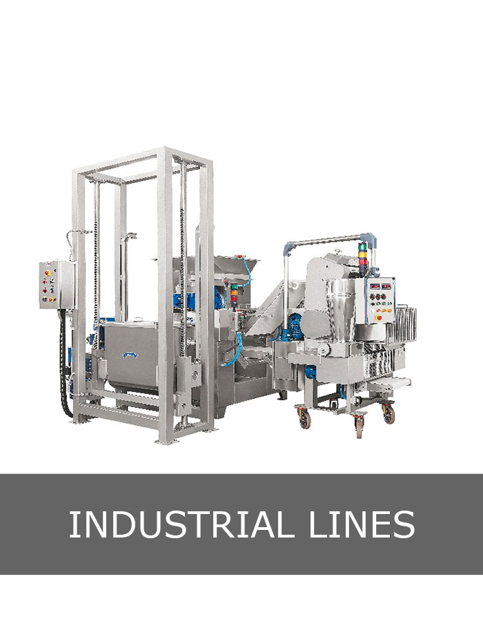 Industrial line of cappelletti