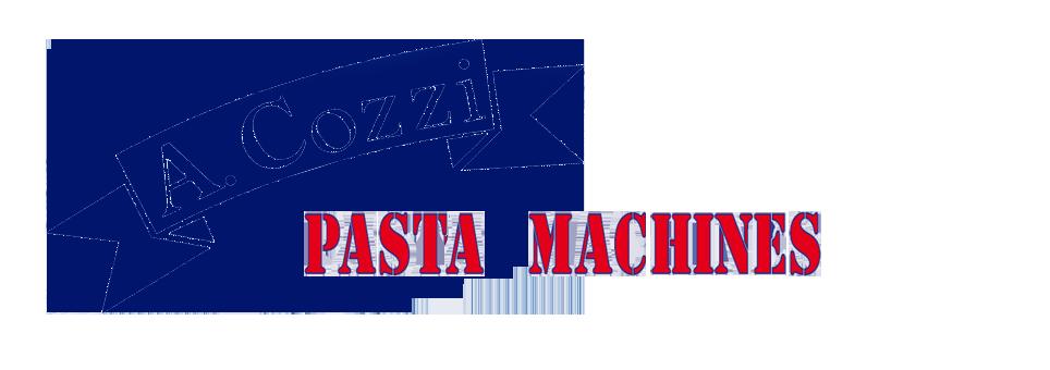 Aldo Cozzi Pasta Machines