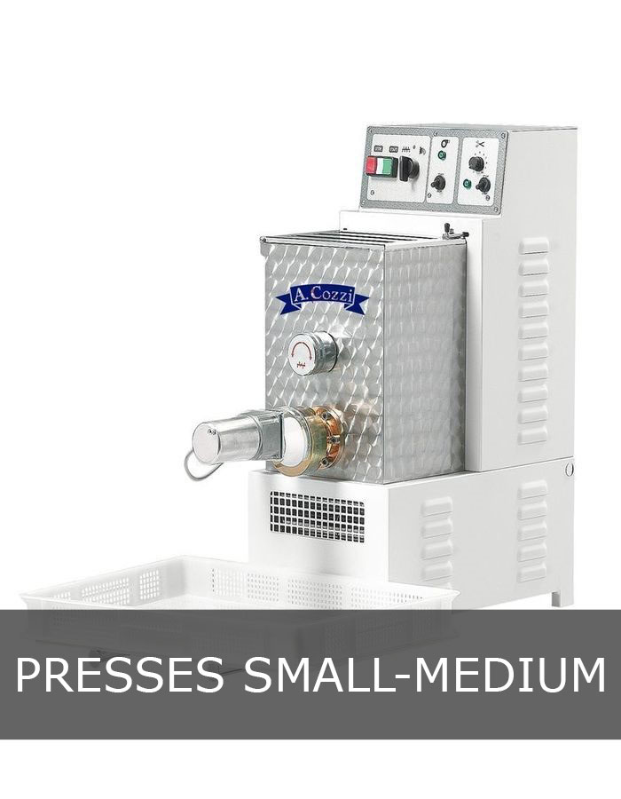 Press PC 75 small medium production pasta