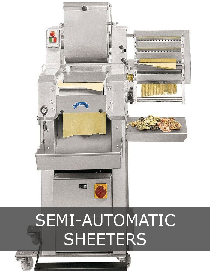 Semi automatic sheeter