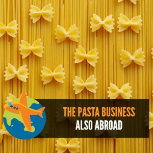 The pasta business also abroad