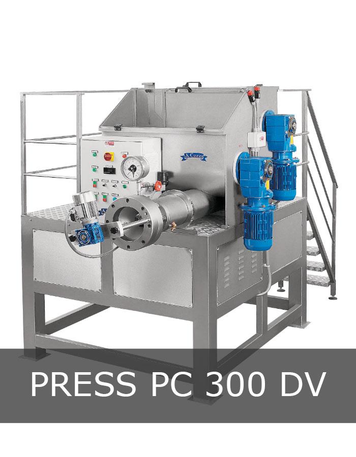 Pasta extruder machine mod. PC 300 DV