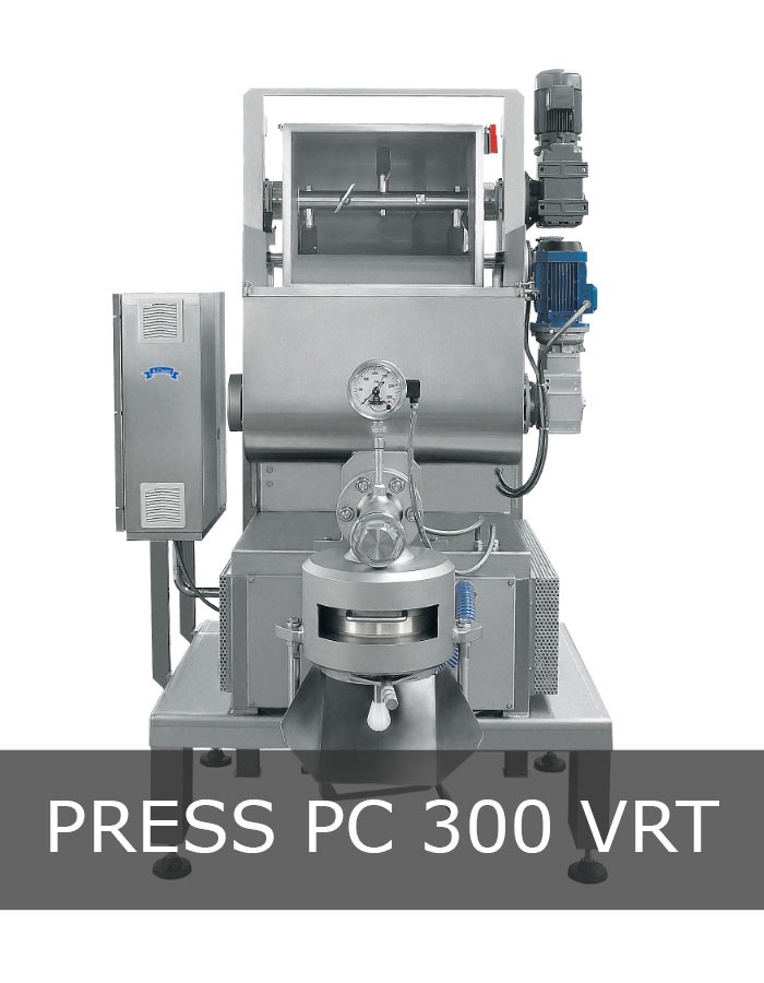 Pasta extruder machine mod. PC 300 VRT