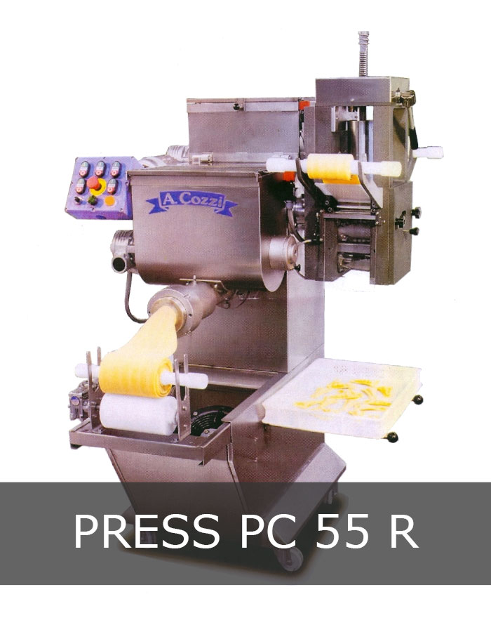 Pasta extruder machine mod. PC 55 R