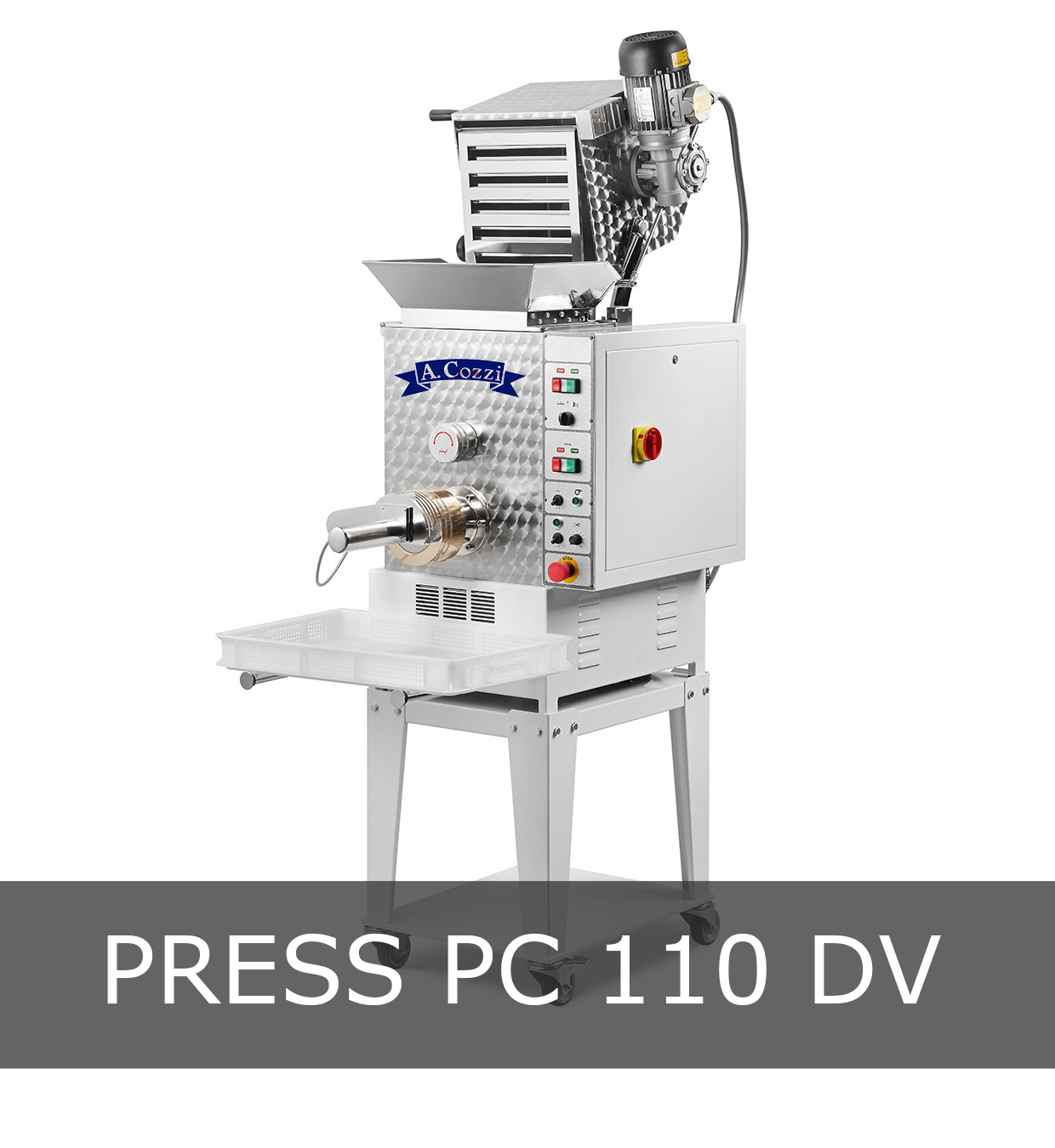 Pasta extruder machine small production PC 110 DV
