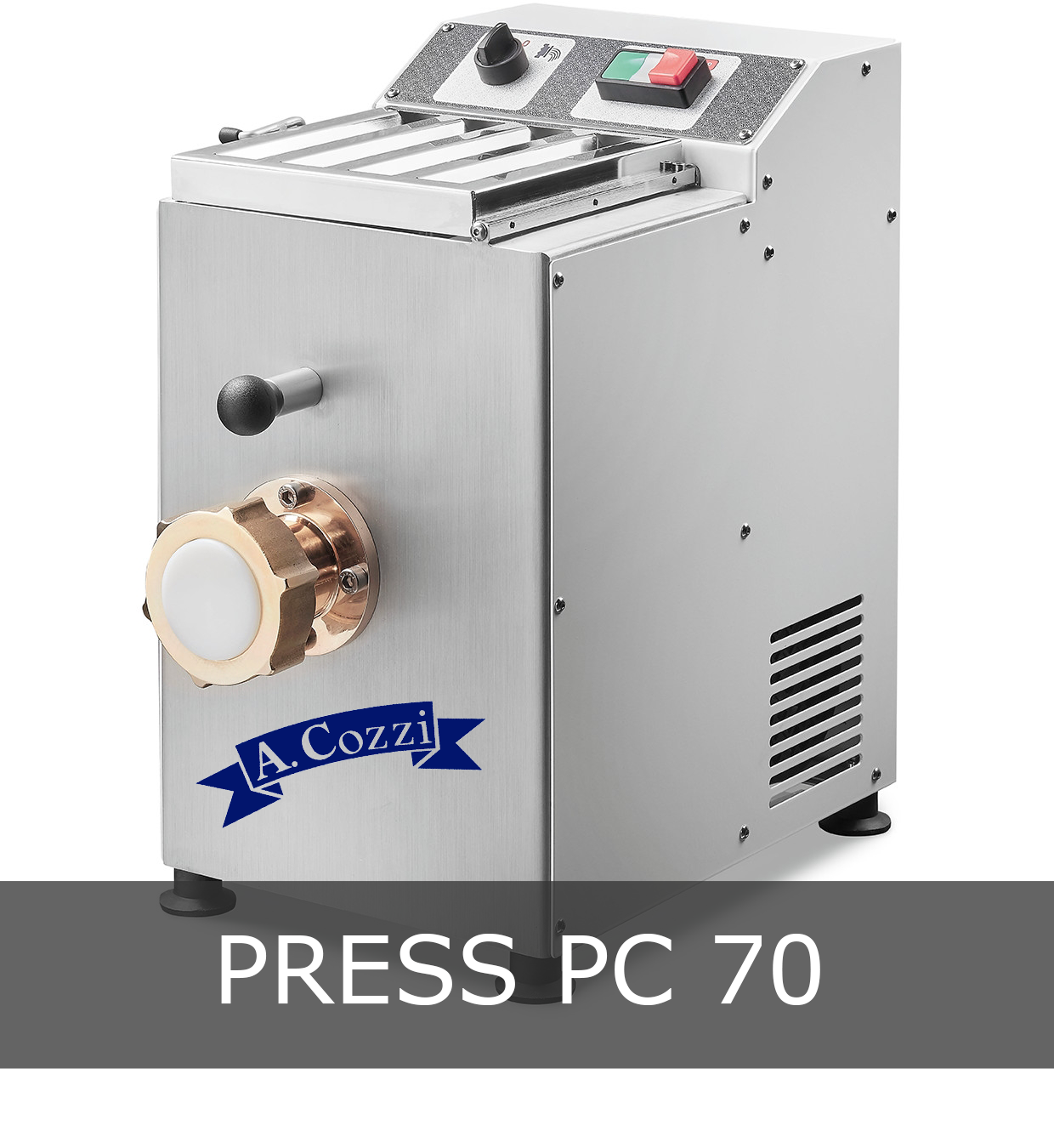 Pasta extruder machine small production PC 70
