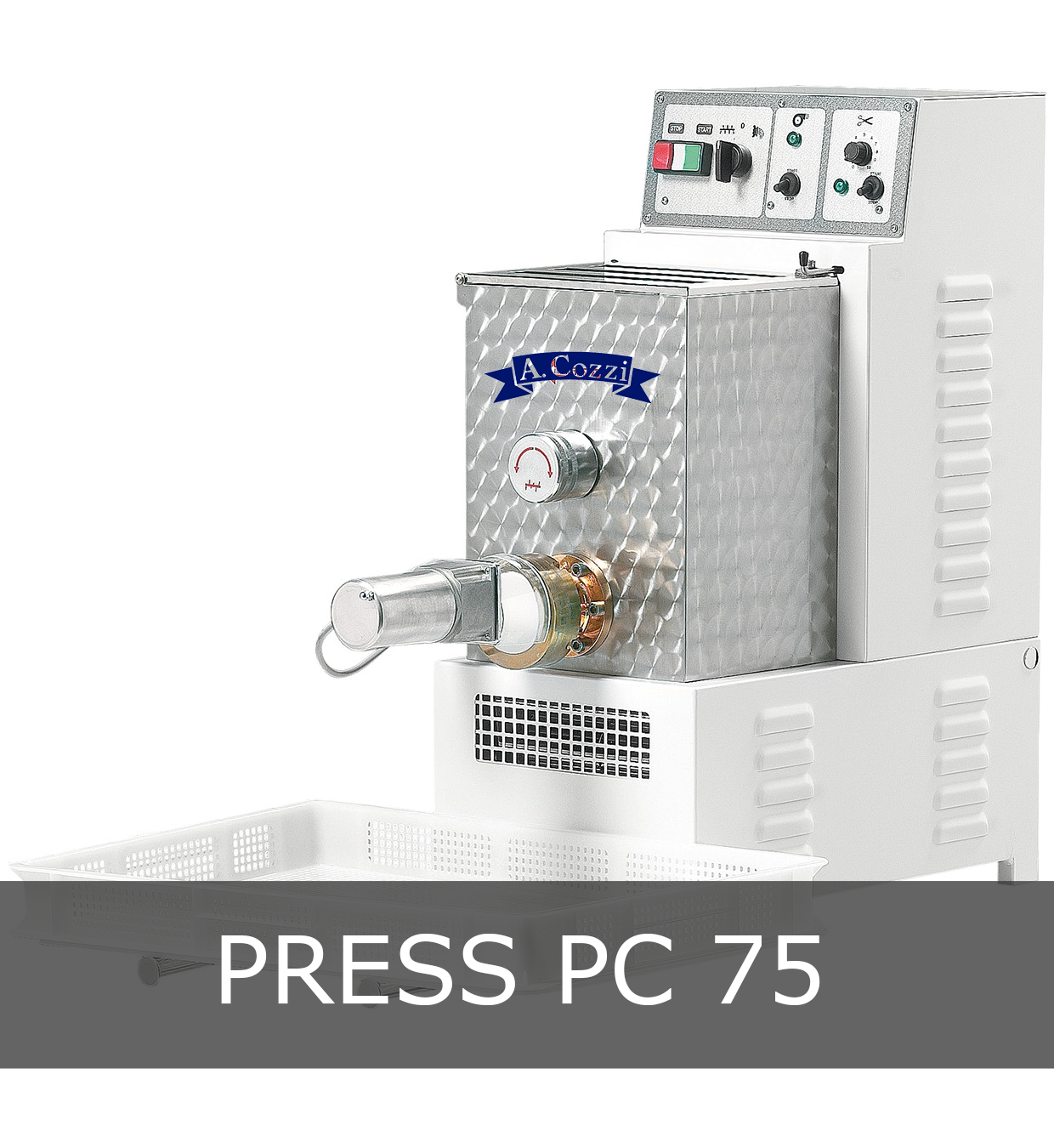 Pasta extruder machine small production PC 75